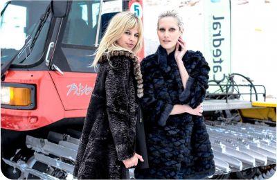Grandes de la moda en el Desfile de Ponchos