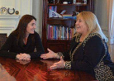 Griselda Herrera se reuni� con ministra de Seguridad de la Naci�n