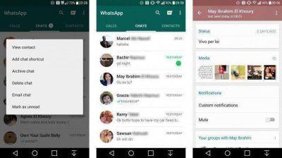 WhatsApp permitirá marcar mensajes como no leídos