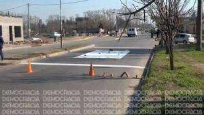 Casi finalizan las obras de se�alizaci�n de las barreras en tres pasos a nivel