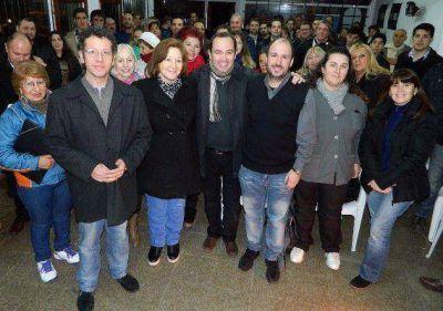 Fuerte apoyo de gastronómicos a la lista Lucas Fiorini Intendente