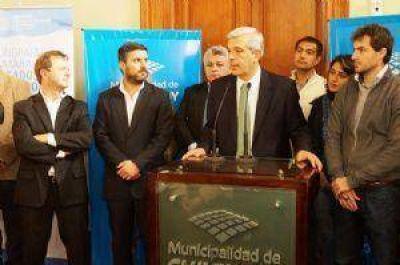 Julián Domínguez recibió el respaldo del intendente a su candidatura a gobernador