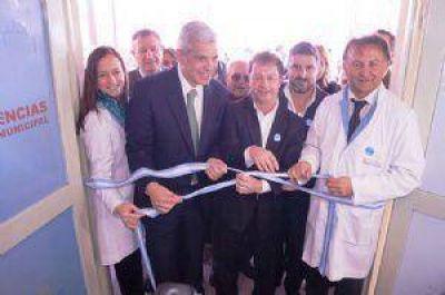 Se inauguró el nuevo servicio de Guardia y Emergencias del Hospital