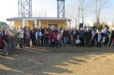 Etchevarren y Viñales dejaron inaugurada la Planta Potabilizadora de Agua en Sevigné