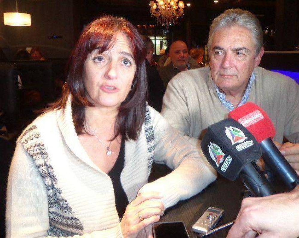 Jaime y Virginia Linares visitaron la ciudad