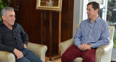 Ramanzini visitó Malvinas Argentinas y recibió el apoyo del intendente Cariglino