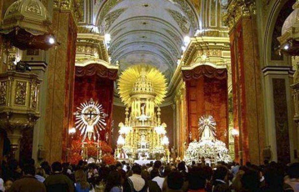 Salta respira Milagro: Mañana entronizan las imágenes del Señor y la Virgen