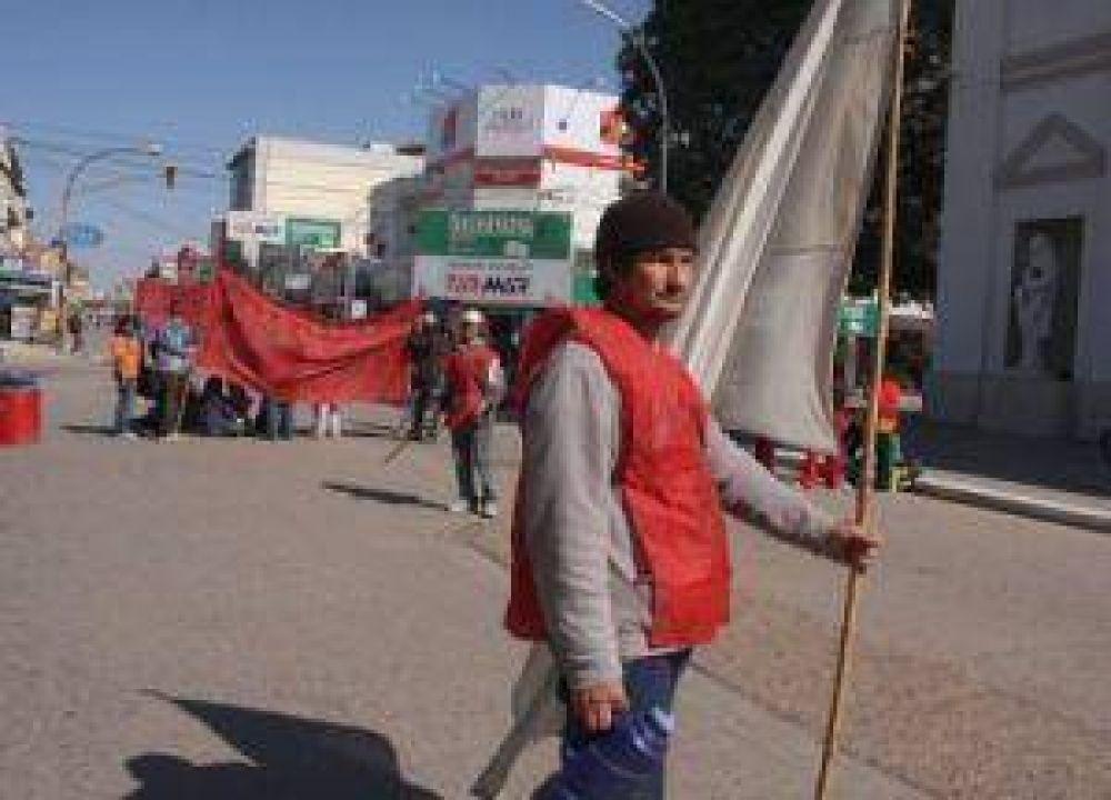 Movimientos sociales volvieron a sitiar Resistencia