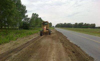 """La renovación de la 88 incluye """"reconformación de banquinas"""", aunque sin asfaltar"""