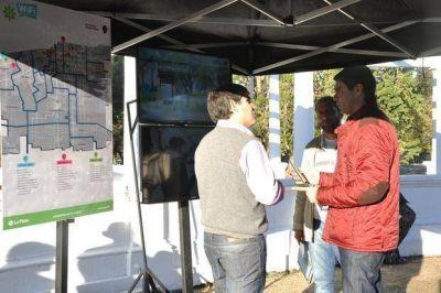Extienden la red de Wifi gratuito a espacios verdes de distintos barrios