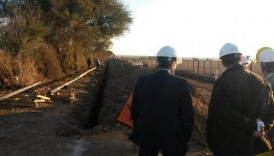 Departamento Colón: avanzan obras de gas y energía