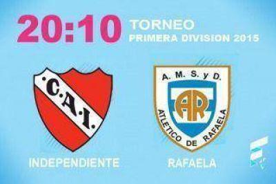 Independiente, con caras nuevas, busca seguir de racha ante Rafaela
