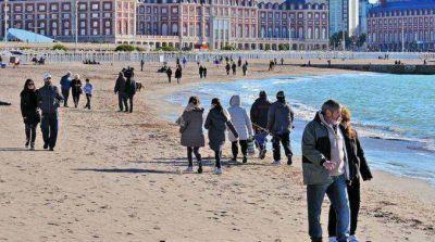 Mar del Plata con 8,5 por ciento m�s de turistas que el 2014