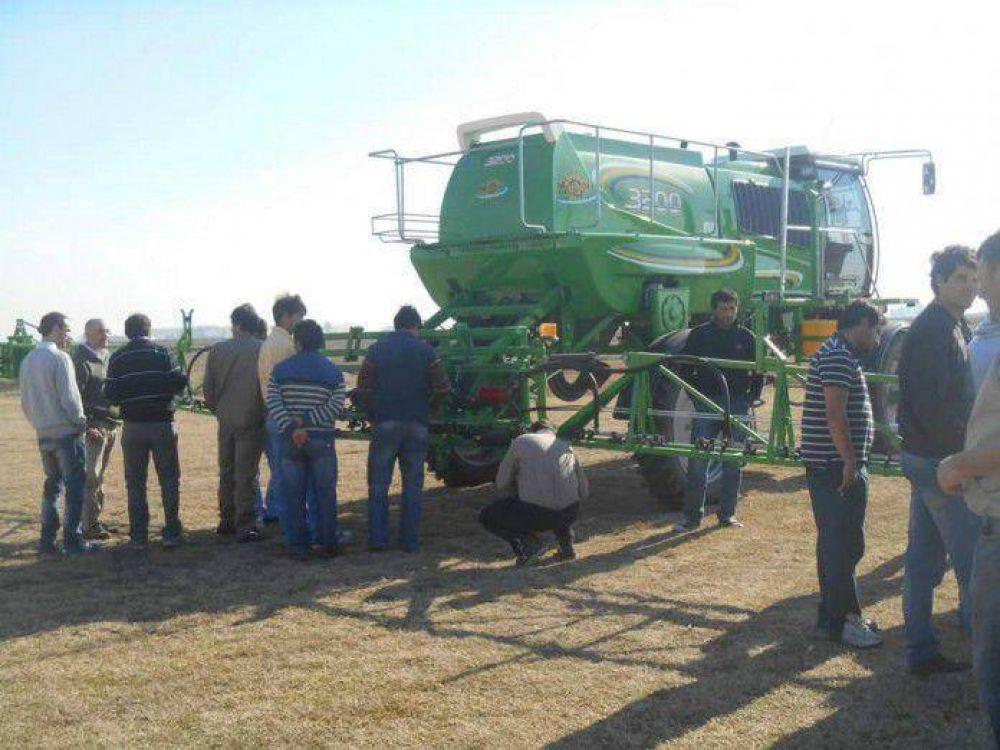 Más de 160 aplicadores participaron del curso para el buen uso de agroquímicos