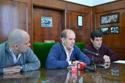 Zurro anunci� una obra de gas por 46 millones