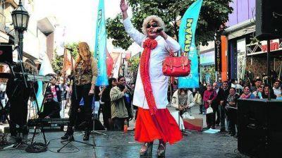 La campaña se hizo sentir en el microcentro de San Miguel de Tucumán