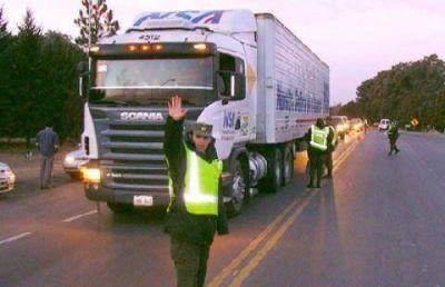 Rige la restricción de camiones en las rutas