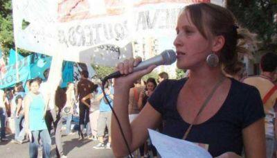 El MST proclam� a Luciana Echevarr�a como candidata a Intendente