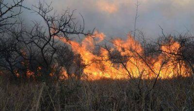 Alerta por incendios forestales en C�rdoba