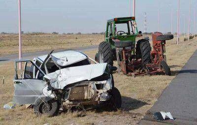 Madre e hija pampeanas fallecieron en accidente sobre autopista de las Serran�as Puntanas