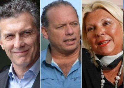 Invasión de campaña: llegan a Mendoza Carrió, Berni, Scioli y Macri