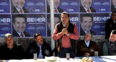 La dirigencia de Chilecito expres� su apoyo a los precandidatos a diputados nacionales