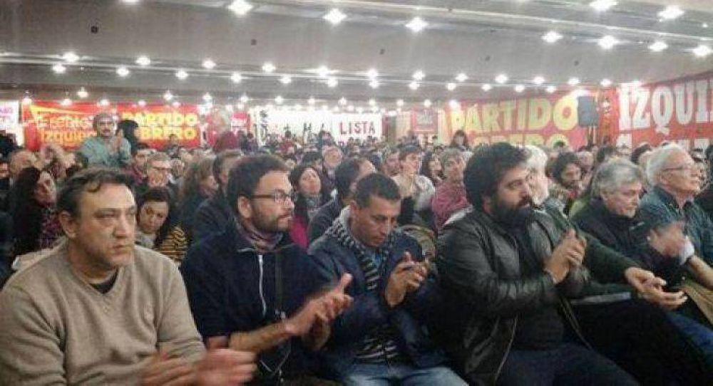 La Izquierda definió apoyar reclamos sindicales como estrategia electoral
