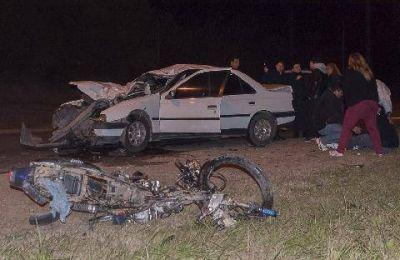 Accidente fatal en la avenida Fray Manuel de Torres
