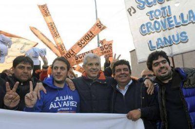 Fuerte respaldo de Domínguez y Espinoza a la candidatura de Julián Álvarez en Lanús