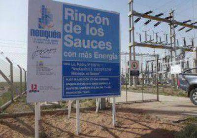 Terminan obras de electricidad en Rincón de los Sauces