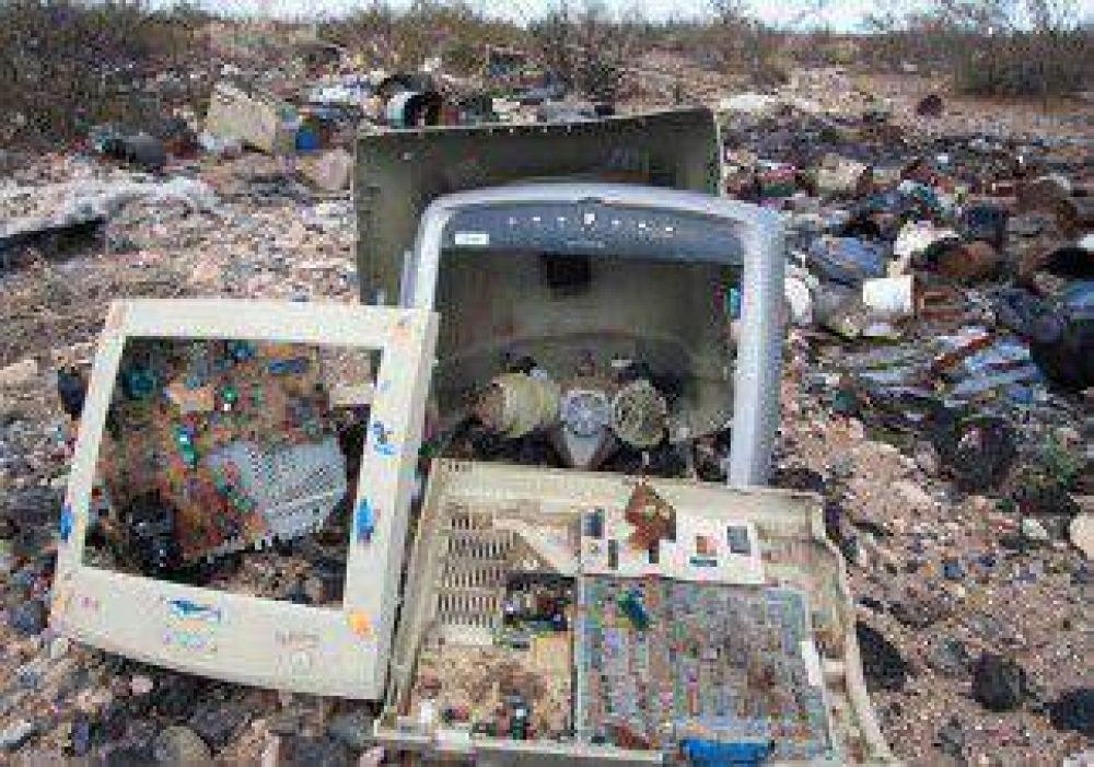 Sólo el 3% de la basura electrónica se recicla