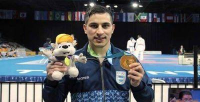 El karateca Tucumano Miguel Amargos ganó la medalla de oro