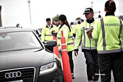 Nueve conductores por día dan positivo el test de alcoholemia