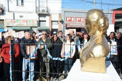 El PJ recordó con un sentido acto a Eva Perón