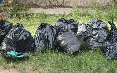 Contenerizaci�n de los residuos: un anuncio que lo tap� la basura
