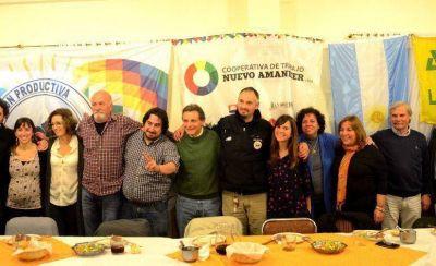 La Cooperativa Nuevo Amanecer celebró la ley de expropiación