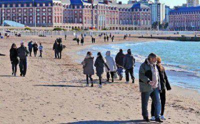 Mar del Plata registra un 8,5 por ciento m�s de turistas que en el invierno de 2014
