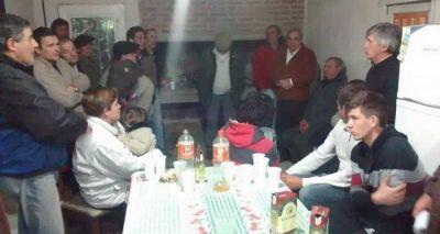 Elecciones 2015: L�pez mantuvo encuentro con j�venes brasileros