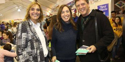 María Eugenia Vidal se sumo al equipo de Vilma Baragiola