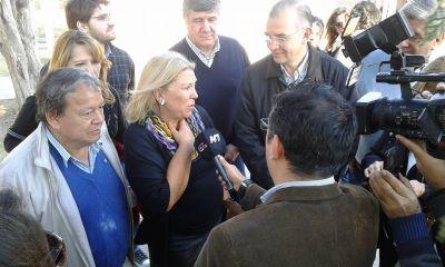 """Lilita Carrio en la provincia: """" Sigo viendo muy pobre a Santiago"""""""