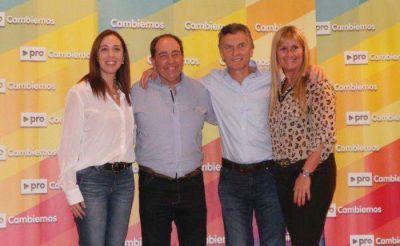 Roberto Rago, con Macri y Vidal