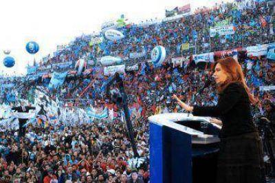 CFK, de fiesta con los galeses