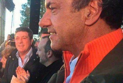 Mariotto acompañó a Scioli en los festejos por un nuevo aniversario de la fundación de Baradero