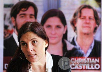 """Luana Simioni: """"Bruera mantiene a los Municipales en pésimas condiciones"""""""