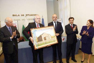 El Primer Ministro de Gales y el gobernador firmaron acuerdo de colaboración entre Chubut y la Orquesta Nacional de la BBC de Gales