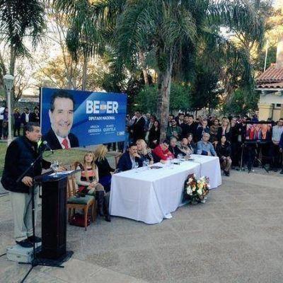 Beder pidió a la dirigencia un arduo trabajo para las próximas elecciones