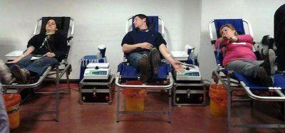 Jornada de donación de sangre en Lomas