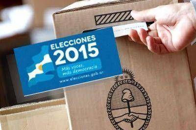 ELECCIONES 2015: Ahora se podrá votar en la escuela más cercana