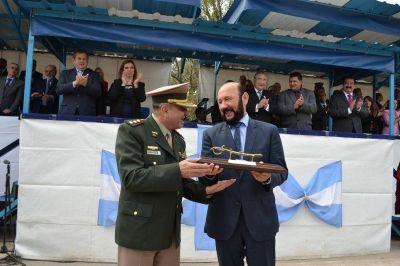 Insfran presidio celebración del 77° aniversario de Gendarmería Nacional