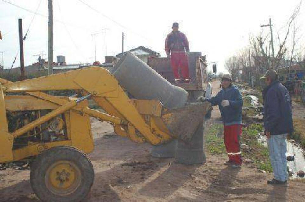 Efectúan tareas de mantenimiento y de recuperación de espacios públicos